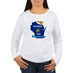 ILY Wisconsin Women's Long Sleeve T-Shirt