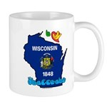 ILY Wisconsin Mug