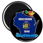ILY Wisconsin Magnet