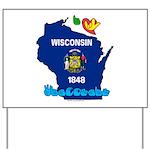 ILY Wisconsin Yard Sign