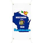 ILY Wisconsin Banner