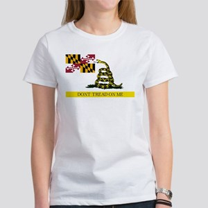 Don't Tread on Me Maryland Women's T-Shirt
