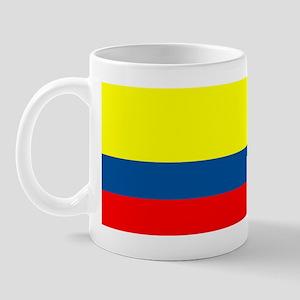 Colombia Colombian Blank Flag Mug