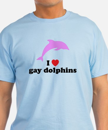 Gay Dolphins T-Shirt