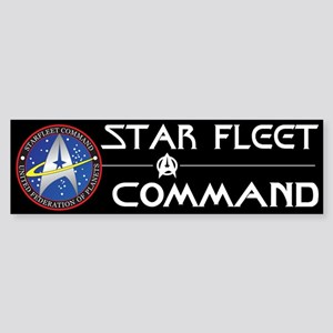 Star Fleet Command Bumper Sticker