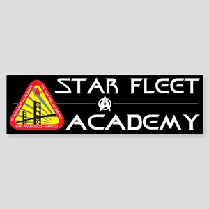 Star Fleet Academy Bumper Sticker
