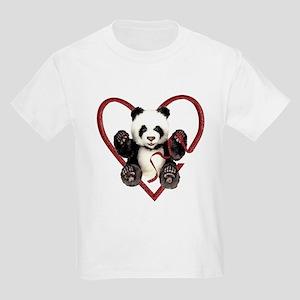 China Panda Love Kids Light T-Shirt