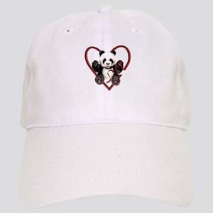 China Panda Love Cap