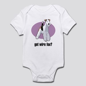 Wire Fox Terrier 2 Infant Bodysuit