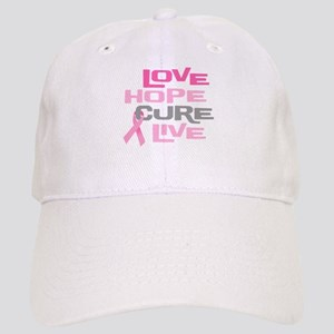 Love Hope Cure Live Cap