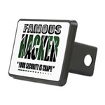 famous hacker funny slogan Rectangular Hitch Cover