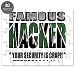 famous hacker funny slogan Puzzle