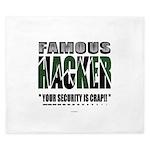 famous hacker funny slogan King Duvet