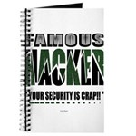 famous hacker funny slogan Journal