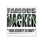 famous hacker funny slogan Sticker