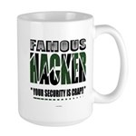 famous hacker funny slogan Mugs