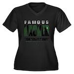 famous hacker funny slogan Plus Size T-Shirt