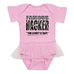 famous hacker funny slogan Baby Tutu Bodysuit