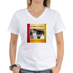 the whiskers' syndicate Women's V-Neck T-Shirt