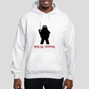 Ninja Hippo Hooded Sweatshirt
