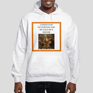 Curling joke Sweatshirt