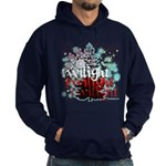Twilight Christmas by Twidaddy.com Hoodie (dark)