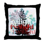 Twilight Christmas by Twidaddy.com Throw Pillow