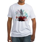 Twilight Christmas by Twidaddy.com Fitted T-Shirt