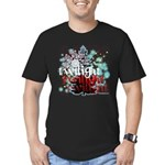 Twilight Christmas by Twidaddy.com Men's Fitted T-