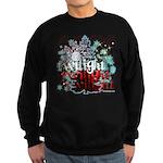 Twilight Christmas by Twidaddy.com Sweatshirt (dar