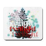 Twilight Christmas by Twidaddy.com Mousepad