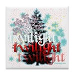Twilight Christmas by Twidaddy.com Tile Coaster