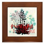Twilight Christmas by Twidaddy.com Framed Tile