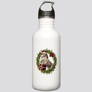 Christmas Donkey Weari Stainless Water Bottle 1.0L