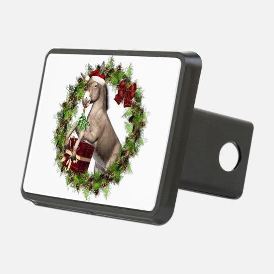 Christmas Donkey Wearing S Hitch Cover