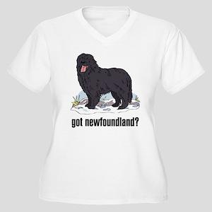 Newfoundland 2 Women's Plus Size V-Neck T-Shirt