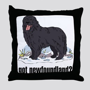 Newfoundland 2 Throw Pillow