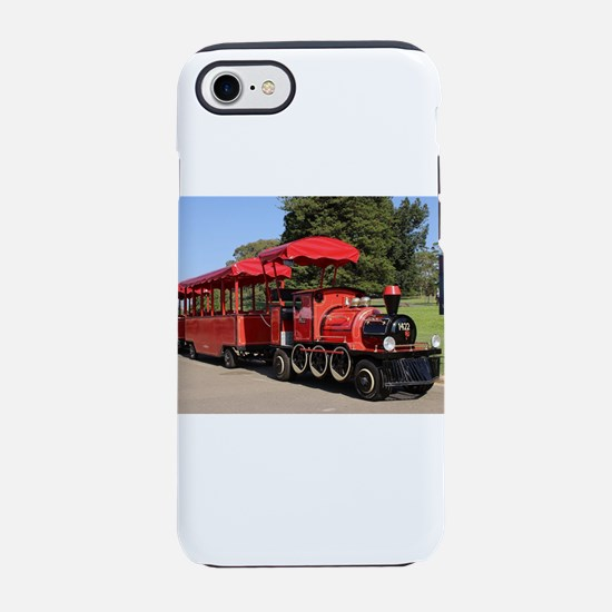 Red Tourist Train iPhone 7 Tough Case