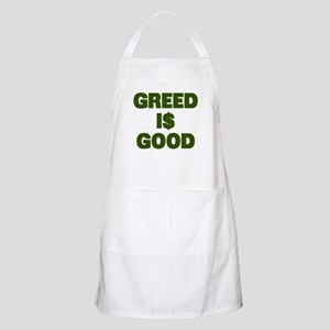 Greed is Good Apron