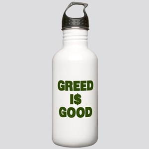 Greed is Good Stainless Water Bottle 1.0L
