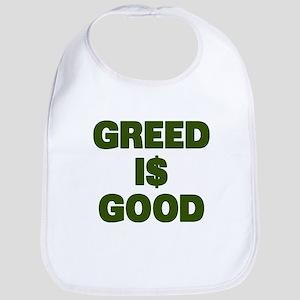 Greed is Good Bib