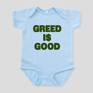 Greed is Good Infant Bodysuit