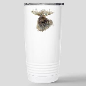 Proud Bull Moose Stainless Steel Travel Mug