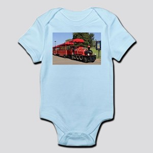 Red Tourist Train Body Suit