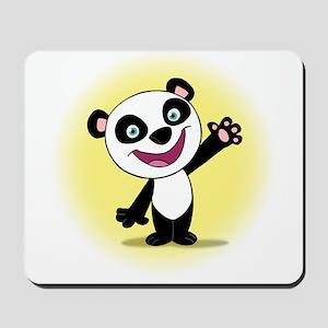 Little Panda with a Little Su Mousepad
