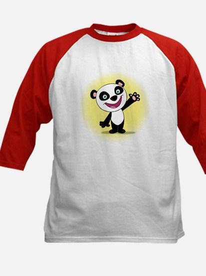 Little Panda with a Little Su Kids Baseball Jersey