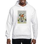 Samurai Warrior Oda Nobunaga Hooded Sweatshirt