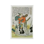 Samurai Warrior Oda Nobunaga Rectangle Magnet (10