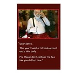 Dear Santa Postcards (package Of 8)