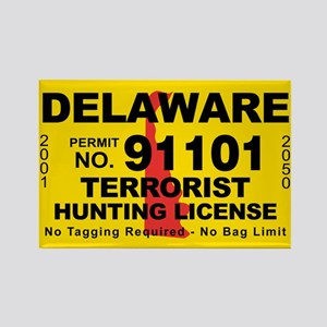 Delaware Rectangle Magnet